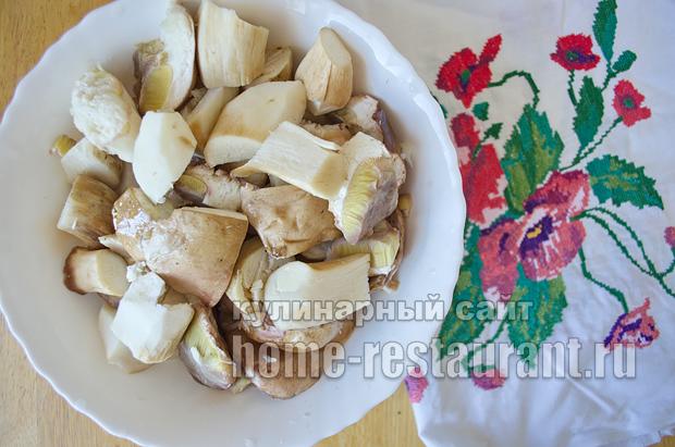 Маринованные белые грибы на зиму рецепт с фото_03