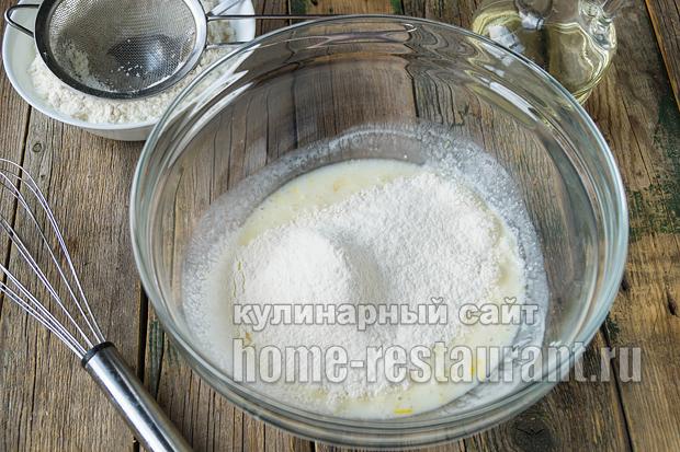 Оладьи без яиц на кефире рецепт с фото _1