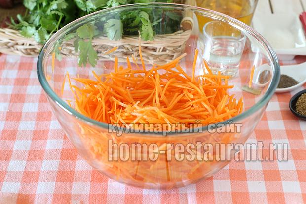 Спаржевая фасоль по-корейски рецепт с фото_08