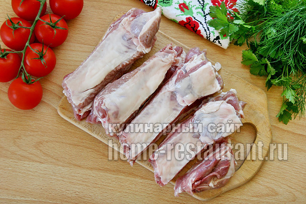 Свиные ребрышки на мангале- рецепт с фото _8