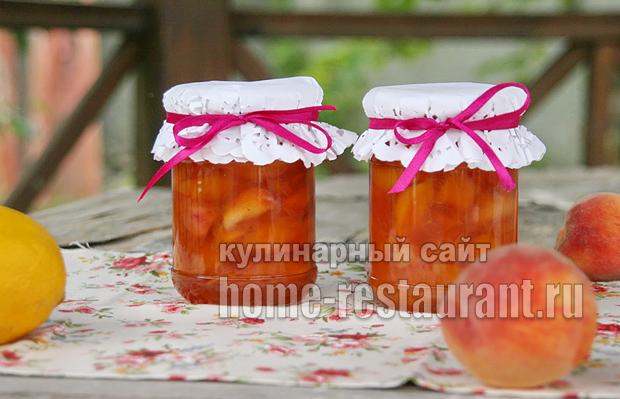Варенье из персиков на сковороде фото 6
