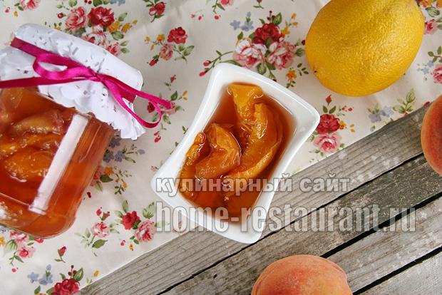Варенье из персиков на сковороде фото 8