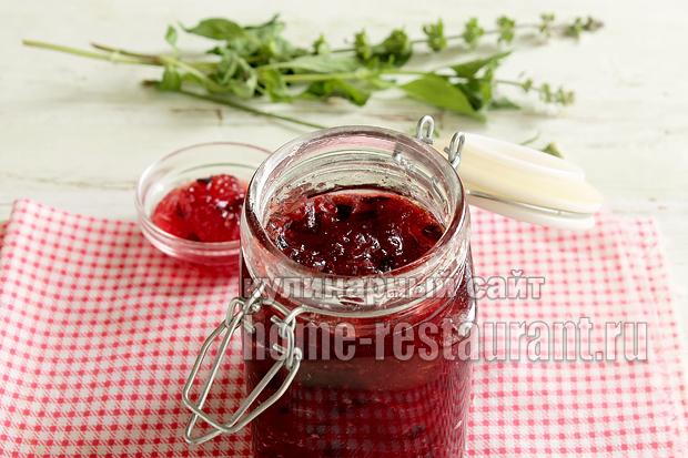 Варенье из слив и яблок простой рецепт фото_3