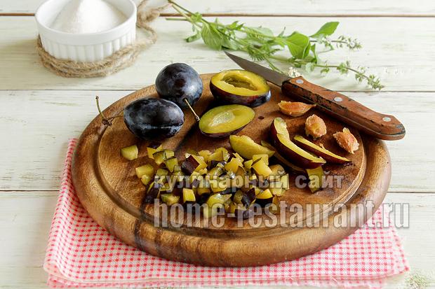 Варенье из слив и яблок простой рецепт фото_7