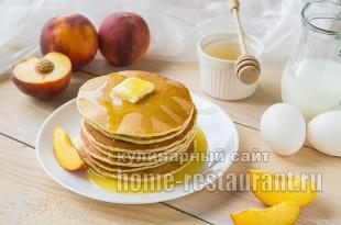 панкейки рецепт с фото пошагово на молоке_06