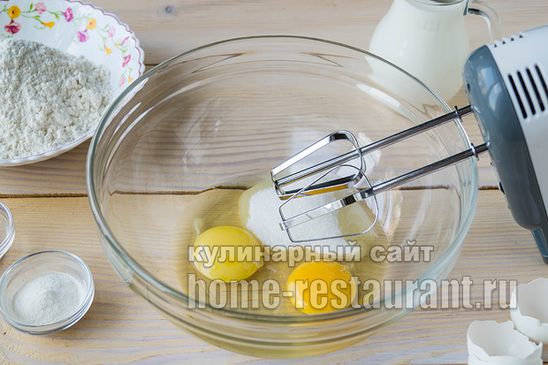 панкейки рецепт с фото пошагово на молоке_07