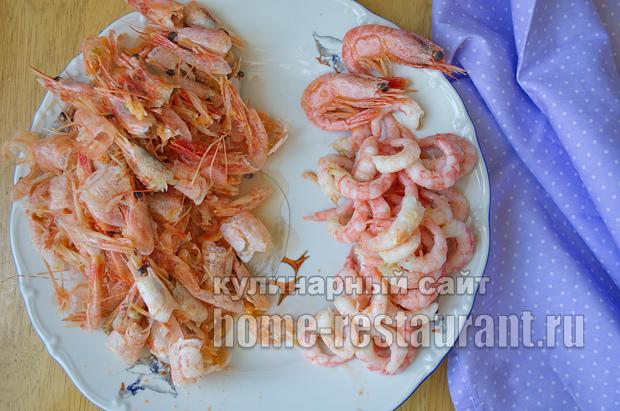 салат цезарь с креветками рецепт с фото пошагово _05