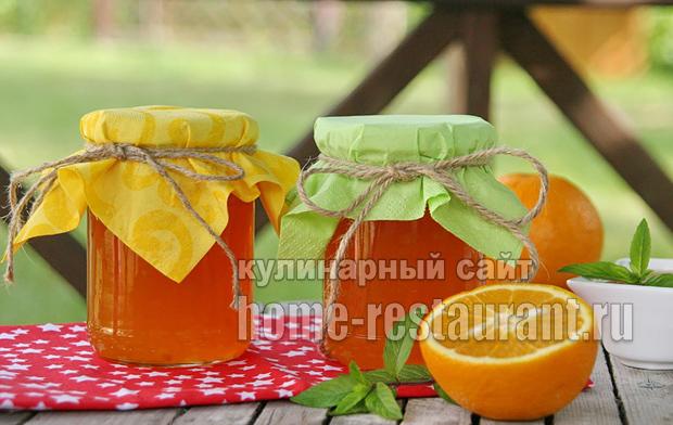 варенье из апельсинов фото 8