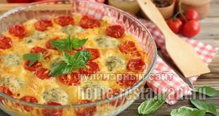 запеканка с макаронами в духовке с фото_02