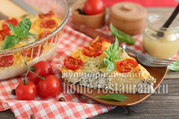 запеканка с макаронами в духовке с фото_03
