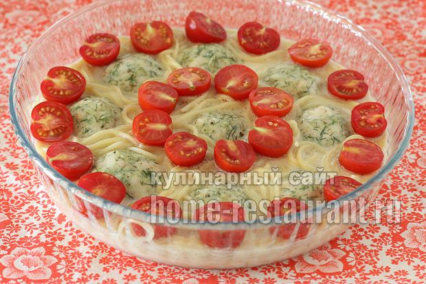 запеканка с макаронами в духовке с фото_07