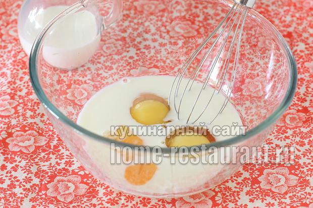 запеканка с макаронами в духовке с фото_13