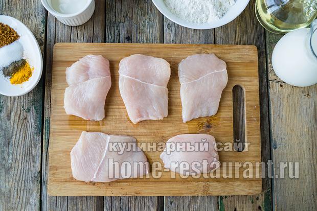 Куриные отбивные в кляре рецепт с фото_10
