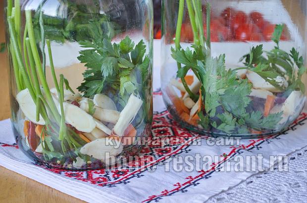 Маринованные помидоры пальчики оближешь рецепт с фото_01