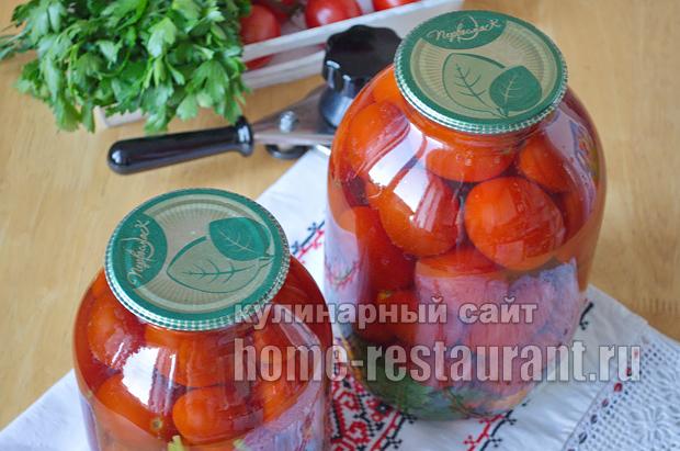 Маринованные помидоры пальчики оближешь рецепт с фото_09