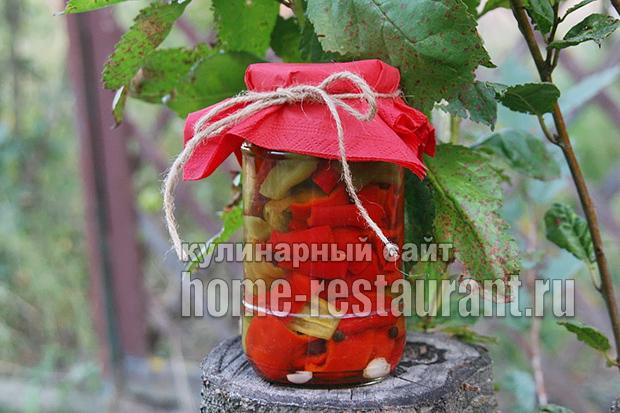 Перец горький маринованный на зиму фото_01