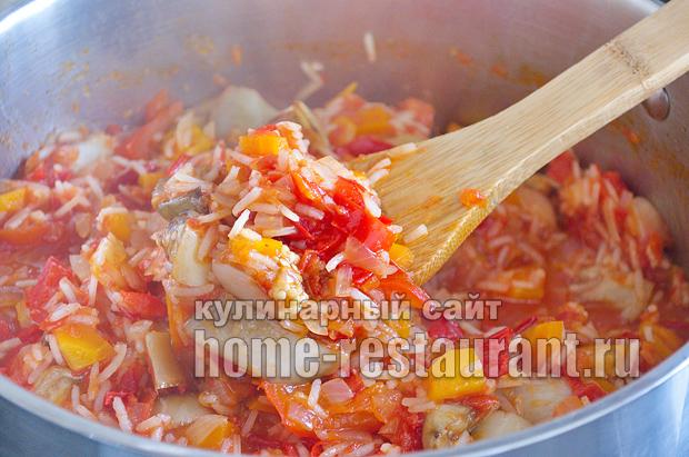 Салат из баклажанов на зиму с рисом фото_01