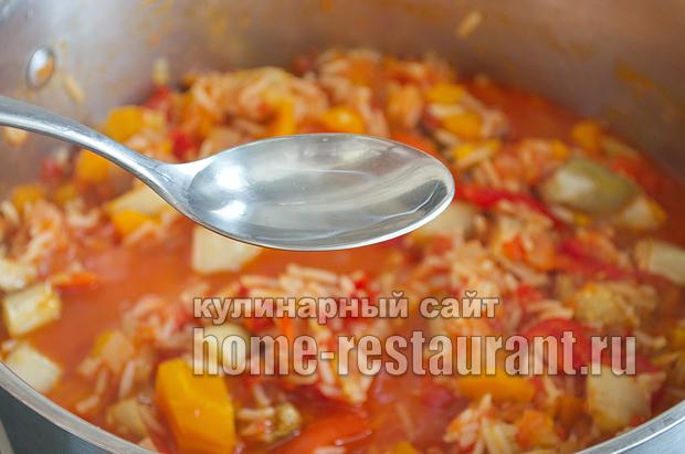 Салат из баклажанов на зиму с рисом фото_14