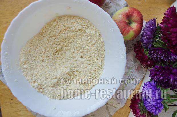 Цветаевский яблочный пирог пошаговый рецепт с фото _01