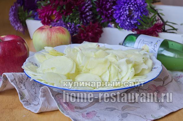 Цветаевский яблочный пирог пошаговый рецепт с фото _03