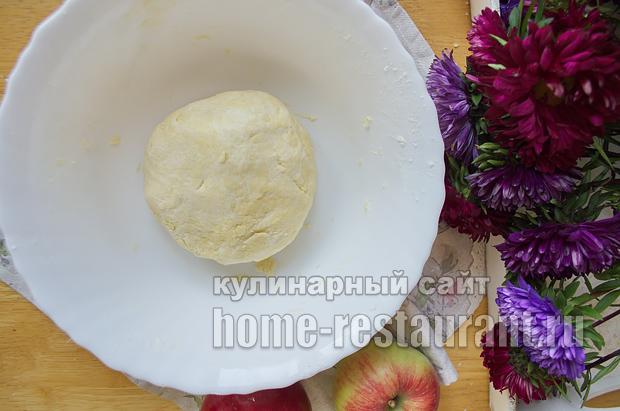 Цветаевский яблочный пирог пошаговый рецепт с фото _06