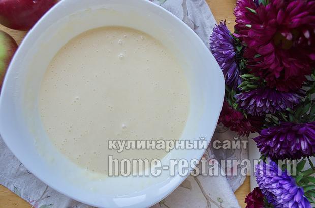 Цветаевский яблочный пирог пошаговый рецепт с фото _08