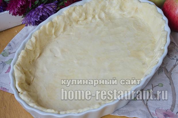 Цветаевский яблочный пирог пошаговый рецепт с фото _09