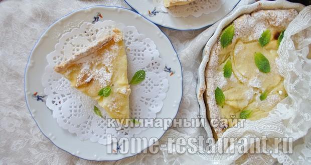 рассыпчатый творожный пирог Лакомка рецепт приготовления