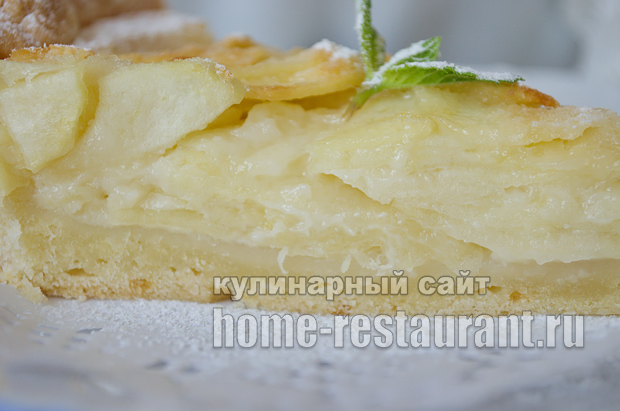 Цветаевский яблочный пирог пошаговый рецепт с фото _17