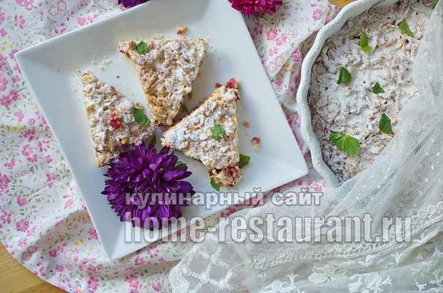 Тертый пирог с вареньем рецепт фото _15