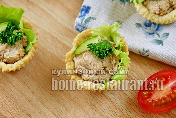 тарталетки с мясным паштетом фото 10