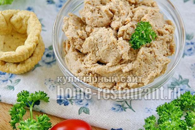 тарталетки с мясным паштетом фото 2