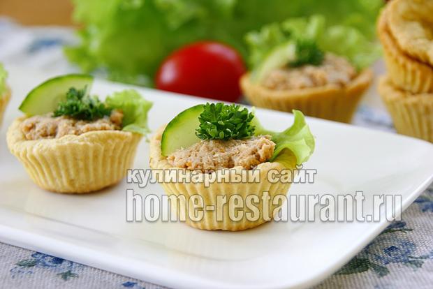 тарталетки с мясным паштетом фото 7