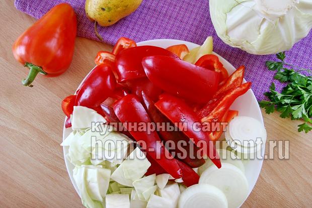 закуска из болгарского перца фото 1