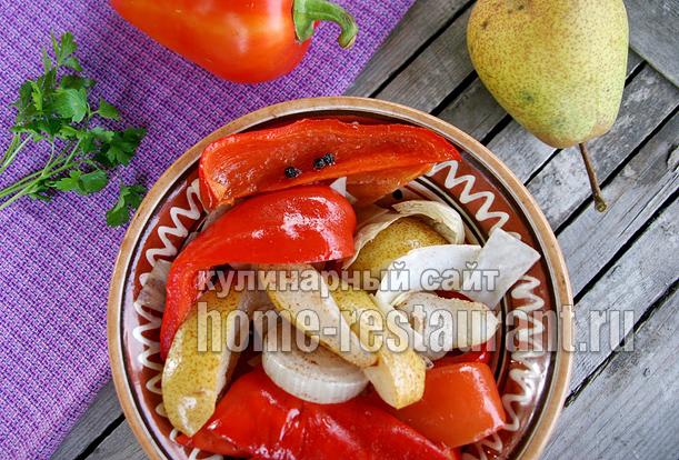 закуска из болгарского перца фото 16