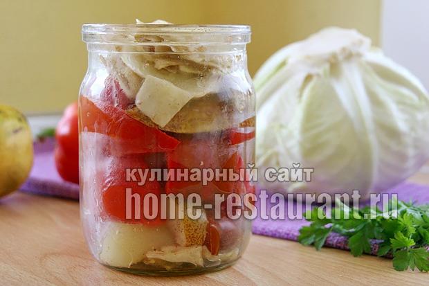 закуска из болгарского перца фото 8