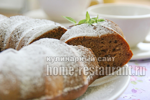 Пирог с вареньем на скорую руку- рецепт с фото пошагово _01