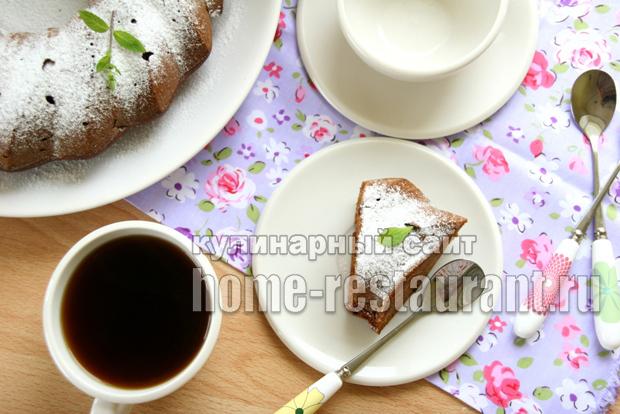 Пирог с вареньем на скорую руку- рецепт с фото пошагово _03