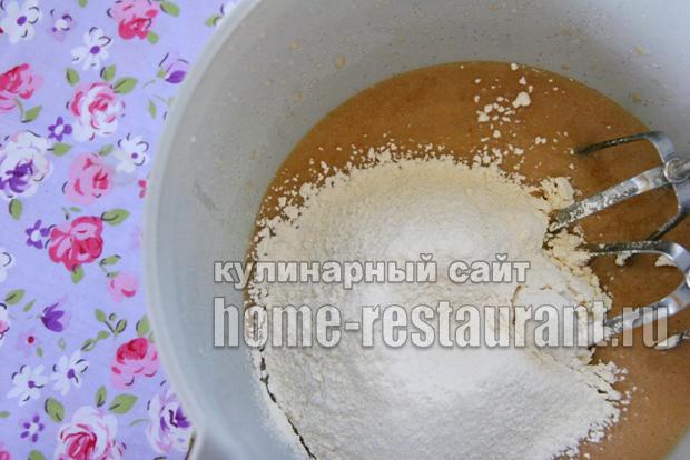 пирог сметанник в духовке пошаговый рецепт с фото