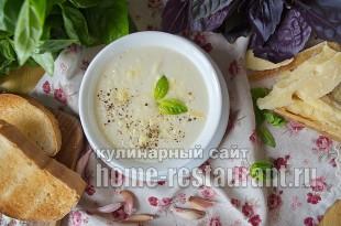 Суп-пюре из цветной капусты рецепт с фото_8