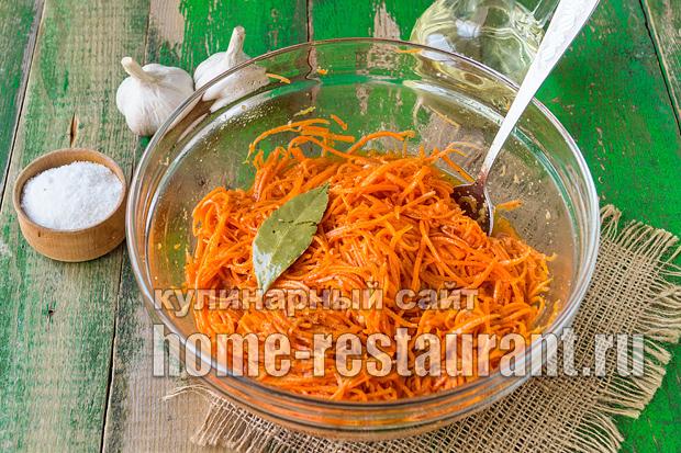 Корейская морковь в домашних условиях фото - Морковь по-корейски с капустой: настоящий рецепт с фото