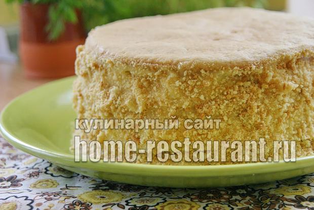 Простой песочный торт в домашних условиях 295