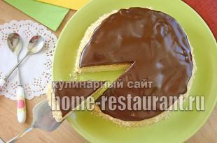 песочный торт с заварным кремом фото_06