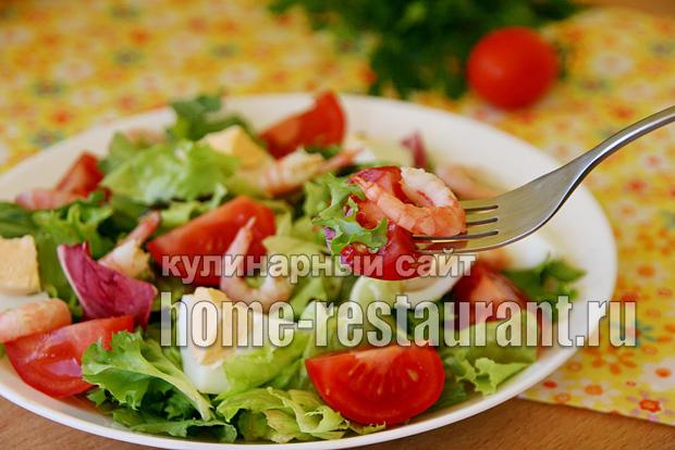 салат с креветками фото 9