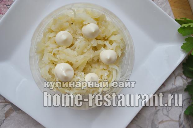 Салат Невеста рецепт с фото  _06