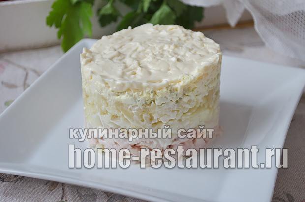 Салат Невеста рецепт с фото  _10