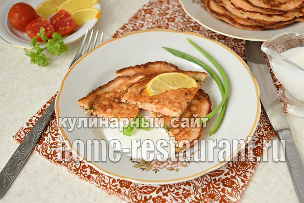 Рыбные блины c зеленью рецепт с фото_6