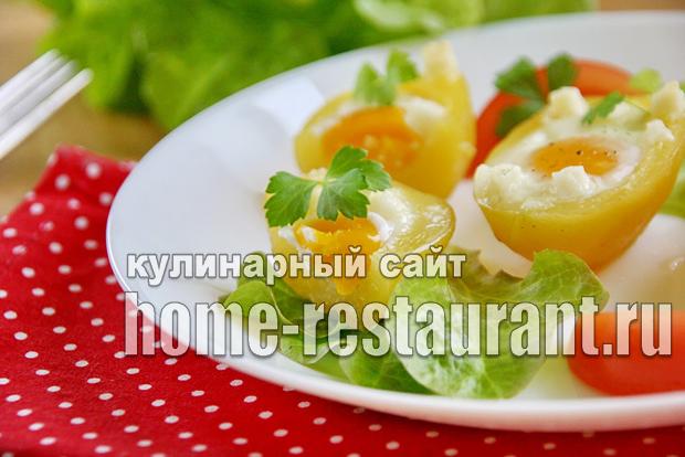 фаршированный картофель в духовке фото_2