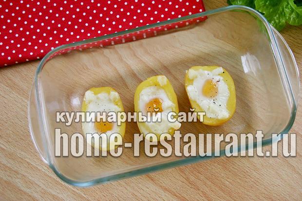 фаршированный картофель в духовке фото_6