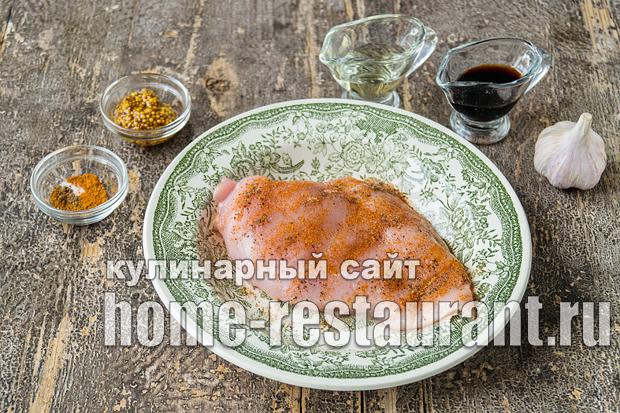 как приготовить салат чафан с куриным филе